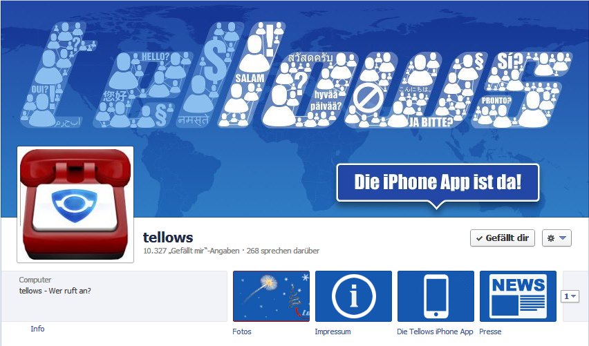 Facebook tellows