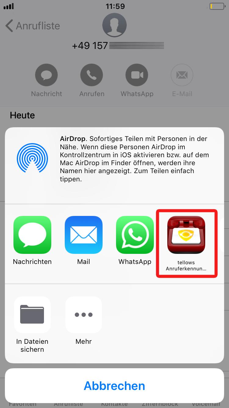 tellows App